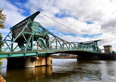 Jefferson & Cass Bridges, Des Plaines River